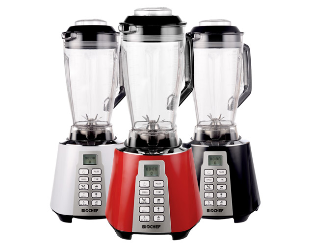BioChef Nova Blender White Red Black
